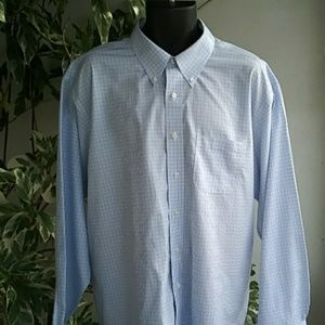 Other - Brook Brothers Madison Blue Dress Shirt Sz 18-36